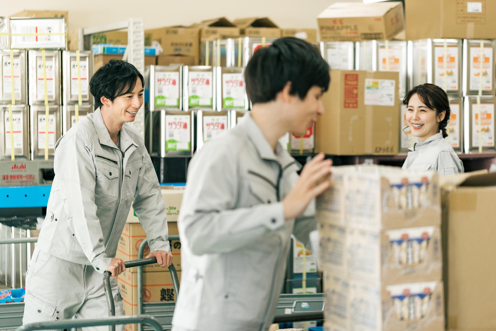 冷蔵・冷凍輸送|食品加工場